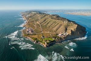 Aerial Photo of Cabrillo Monument and Point Loma