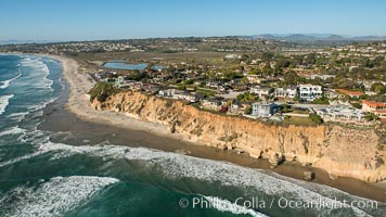 Aerial Photo of Cardiff and Solana Beach Coastline