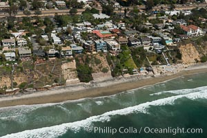 Aerial photo of Coastal Encinitas and Leucadia