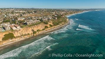 Aerial Photo of Encinitas Coastline