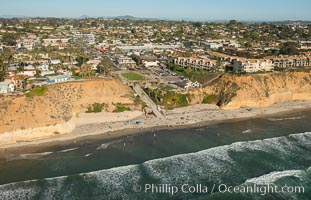 Aerial Photo of Fletcher Cove Solana Beach