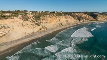 Aerial Photo of La Jolla Farms and Blacks Beach