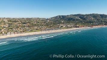 Aerial Photo of La Jolla Shores and Mount Soledad