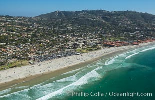 Aerial Photo of La Jolla Shores Beach