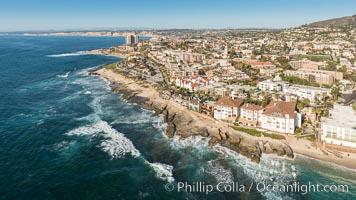 Aerial Photo of Nicholson Point and La Jolla Coastline