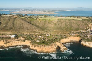 Aerial Photo of Point Loma and Fort Rosecrans, San Diego, California