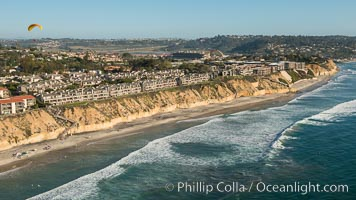 Aerial Photo of Solana Beach Coastline
