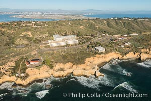 Aerial Photo of SPAWAR Systems Center, Point Loma, San Diego