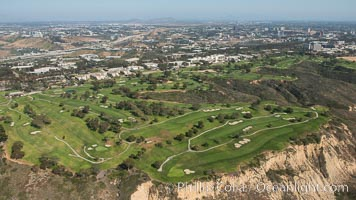 Aerial Photo of Torrey Pines Golf Course, South, La Jolla, California