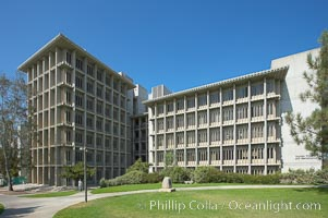 Applied Physics and Mathematics Building (AP and M), Muir College, University of California San Diego (UCSD). University of California, San Diego, La Jolla, California, USA, natural history stock photograph, photo id 21229
