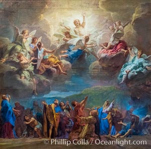Ascension of Christ, Jouvenet, Chateau de Versailles, Paris, France