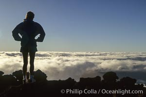 Atop Haleakala volcano. Maui, Hawaii, USA, natural history stock photograph, photo id 05609