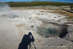 Avoca Spring, Biscuit Basin, Yellowstone National Park, Wyoming