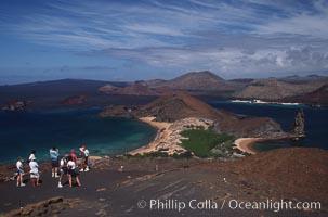 Bartolome lookout, Bartolome Island