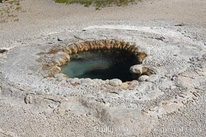 Beach Spring, Upper Geyser Basin, Yellowstone National Park, Wyoming