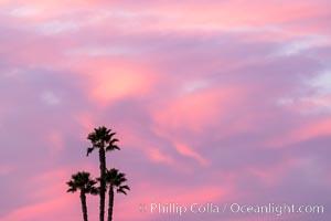 Beautiful Sunset over San Diego