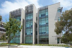 Bioengineering building at the Jacobs School of Engineering, University of California, San Diego (UCSD). La Jolla, USA, natural history stock photograph, photo id 20847