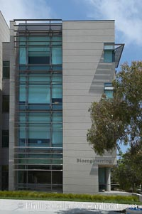 Bioengineering building at the Jacobs School of Engineering, University of California, San Diego (UCSD). University of California, San Diego, La Jolla, California, USA, natural history stock photograph, photo id 20848