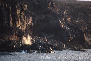 Blowhole, Guadalupe Island (Isla Guadalupe)