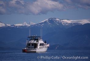 Boat Arctic Sun, Frederick Sound