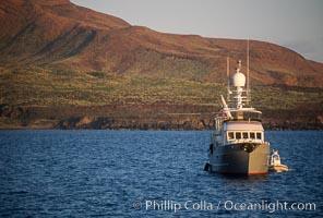 Boat Millenium Starship, Socorro Island, Baja California, Mexico, Socorro Island (Islas Revillagigedos)