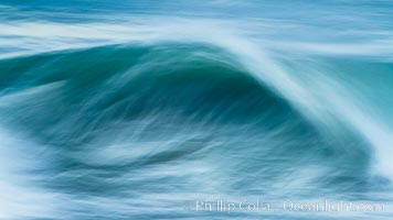 Breaking wave fast motion and blur. The Wedge. The Wedge, Newport Beach, California, USA, natural history stock photograph, photo id 27076