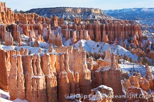 Bryce Canyon hoodoos line all sides of the Bryce Amphitheatre, Bryce Canyon National Park, Utah