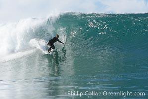Tony Gatti, Ponto, South Carlsbad, morning surf