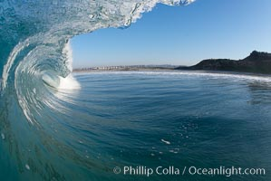 Ponto, South Carlsbad, morning surf. California, USA, natural history stock photograph, photo id 17829