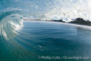 Ponto, South Carlsbad, morning surf. California, USA, natural history stock photograph, photo id 17835