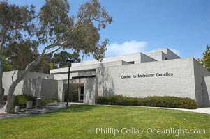 Center for Molecular Genetics building, University of California, San Diego (UCSD), La Jolla