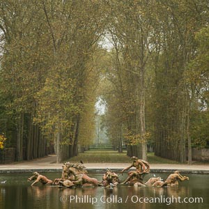Versailles Palace. Chateau de Versailles, Paris, France, natural history stock photograph, photo id 28252
