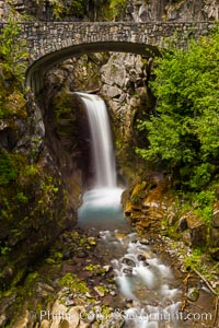 Christine Falls. Mount Rainier National Park, Washington, USA, natural history stock photograph, photo id 28717