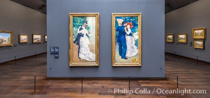 City Dance, Country Dance, Pierre-Auguste Renoir, Musee d'Orsay, Paris, Musee dOrsay