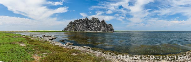 Clipperton Rock and Stagnant Lagoon, Clipperton Island