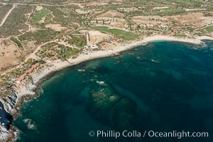 Residential and resort development along the coast near Cabo San Lucas, Mexico