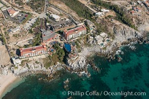 Residential and resort development along the coast near Cabo San Lucas, Mexico. Cabo San Lucas, Baja California, Mexico, natural history stock photograph, photo id 28935