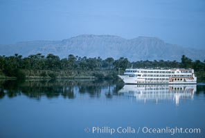 Cruise ship on the Nile River, Luxor, Egypt