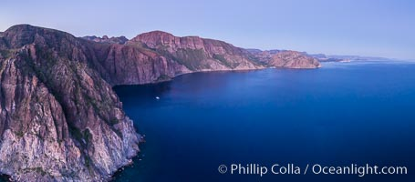 Dawn over Sherry's Bay, Sea of Cortez, Sherrys Bay, Baja California, Mexico