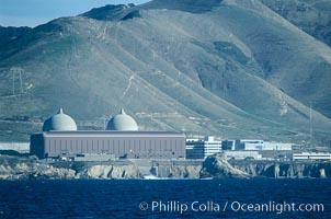 Diablo Canyon nuclear power plant. San Luis Obispo, California, USA, natural history stock photograph, photo id 05506