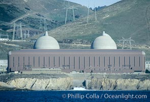 Diablo Canyon nuclear power plant. San Luis Obispo, California, USA, natural history stock photograph, photo id 05507