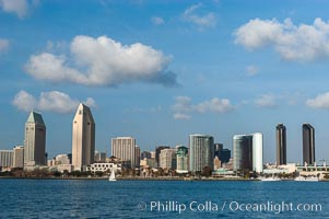 Downtown San Diego viewed from Coronado Island