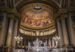 Eglise de la Madeleine, a Roman Catholic church in the 8th arrondissement of Paris, designed in its present form as a temple to the glory of Napoleon's army