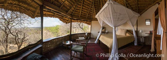 Elsa's Kopje, Luxury Safari Lodge, Meru National Park, Kenya. Meru National Park, Kenya, natural history stock photograph, photo id 29610