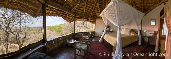 Elsa's Kopje, Luxury Safari Lodge, Meru National Park, Kenya., natural history stock photograph, photo id 29611