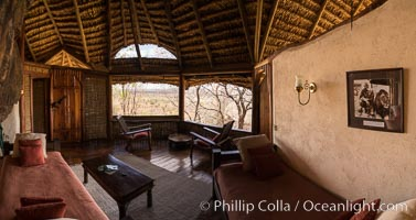 Elsa's Kopje, Luxury Safari Lodge, Meru National Park, Kenya