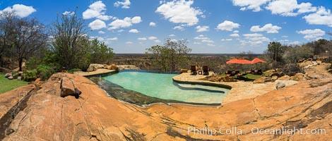 Elsa's Kopje, Luxury Safari Lodge, Meru National Park, Kenya., natural history stock photograph, photo id 29616