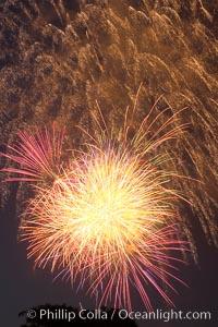 Fireworks, Legoland, Carlsbad, California