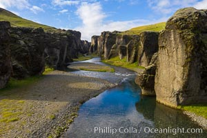 Fja�r�rglj�fur cayon in Iceland, a Game of Thrones place