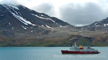 Fortuna Bay, with icebreaker M/V Polar Star at anchor